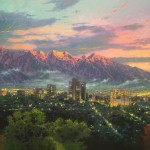 Salt Lake, City of Light – Limited Edition Canvas