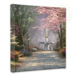 "Savannah Romance – 14"" x 14"" Gallery Wrapped Canvas"