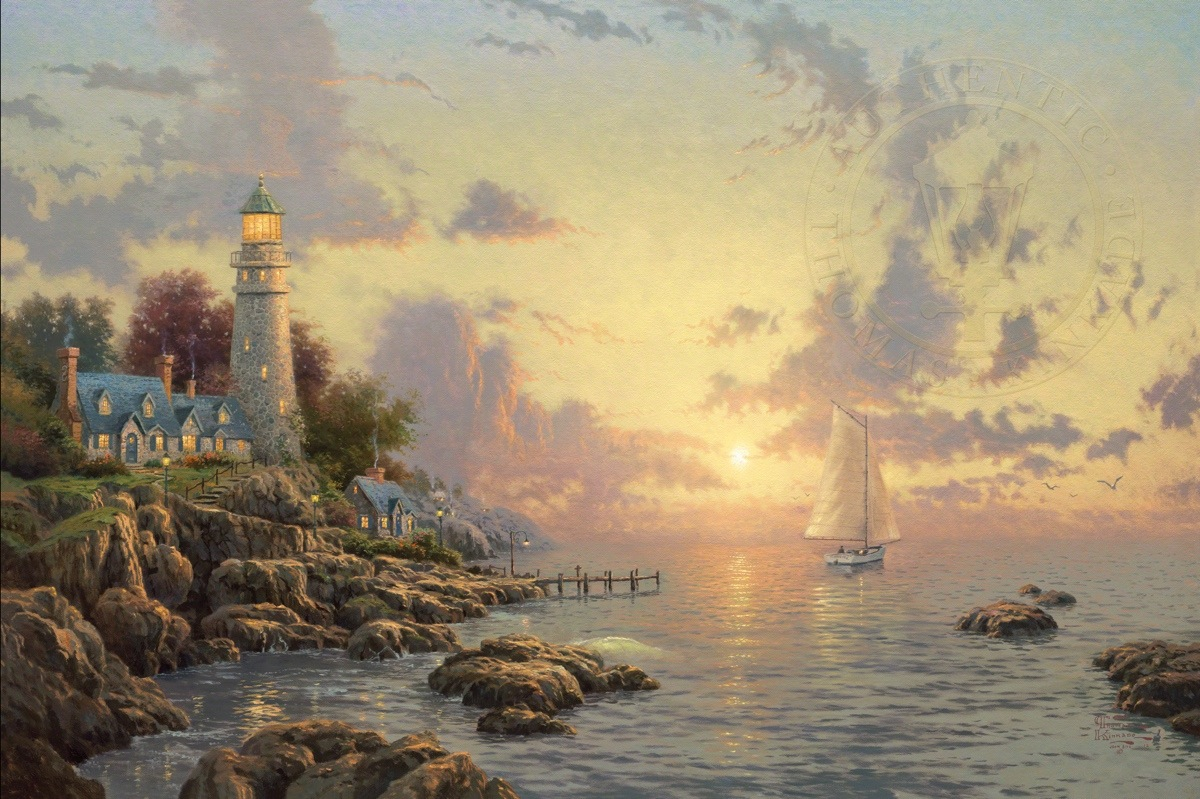 Sea of Tranquility, The – Limited Edition Art | The Thomas Kinkade ...