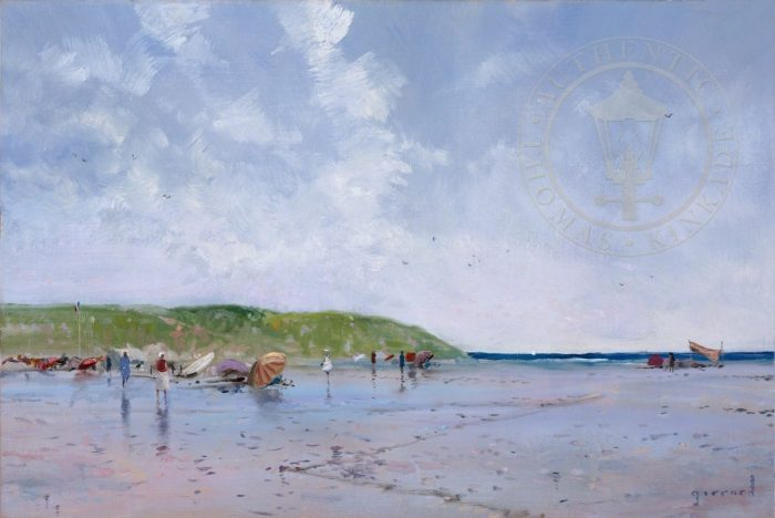Seaside Umbrellas – Limited Edition Canvas
