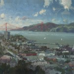San Francisco, View from Coit Tower – Limited Edition Canvas
