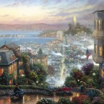 San Francisco, Lombard Street – Limited Edition Canvas