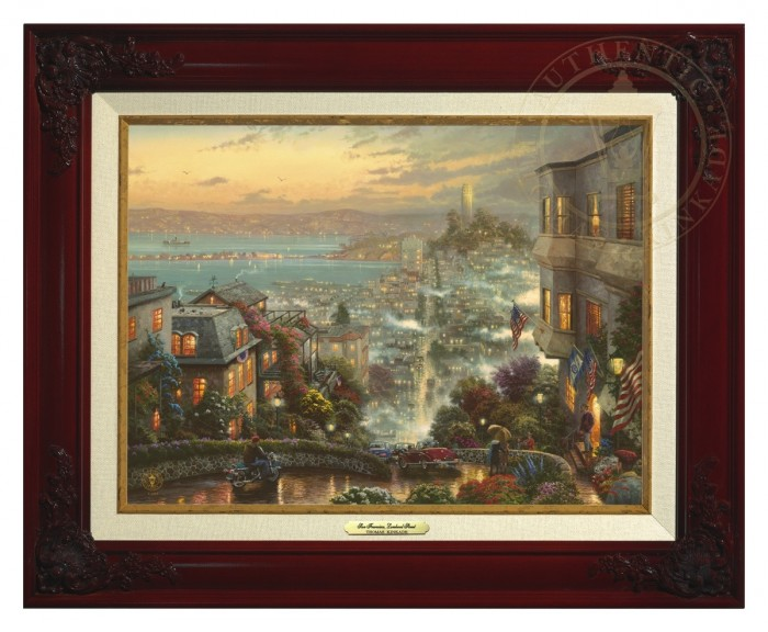 San Francisco, Lombard Street – Canvas Classic