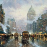 San Francisco, Market Street – Limited Edition Canvas