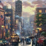San Francisco, Powell Street – Limited Edition Canvas