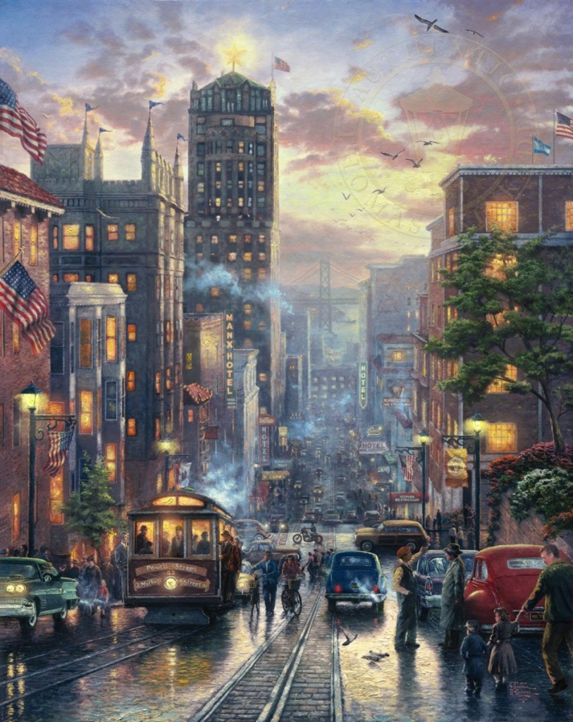 San Francisco, Powell Street – Limited Edition Art