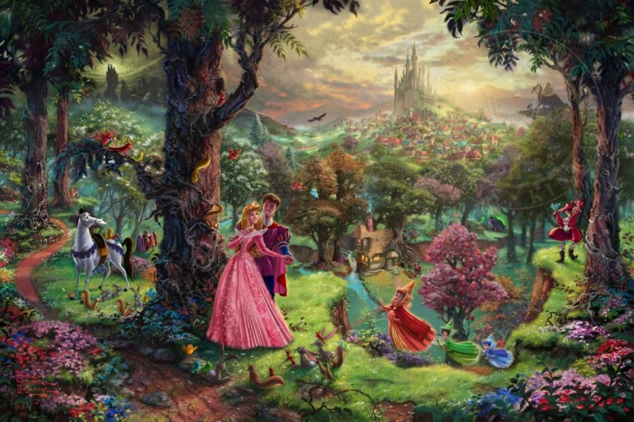 Sleeping Beauty – Limited Edition Art