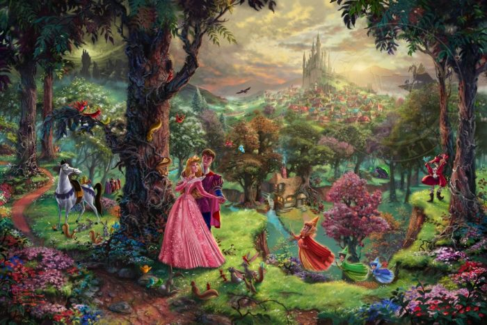 Sleeping Beauty – Limited Edition Canvas