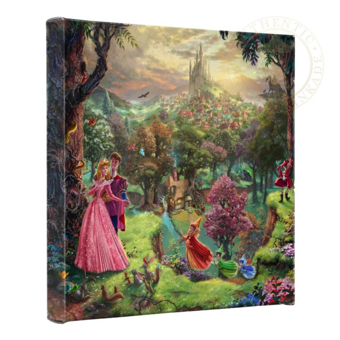 Sleeping Beauty – 14″ x 14″ Gallery Wrapped Canvas