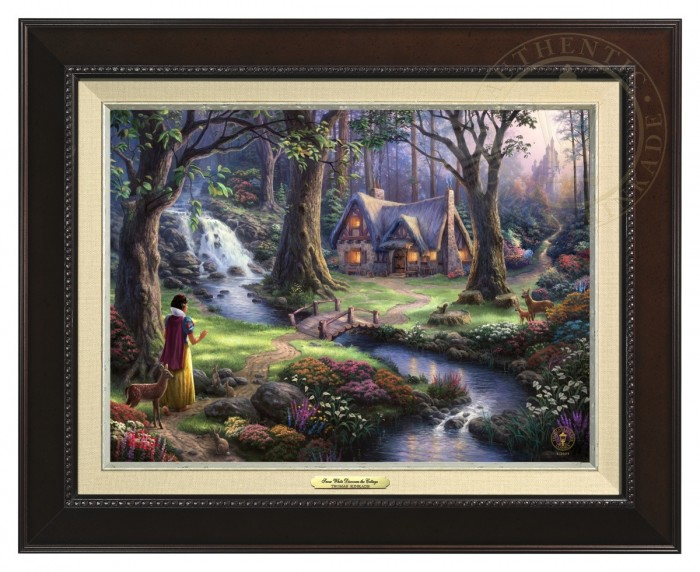 Snow White Discovers the Cottage – Canvas Classic