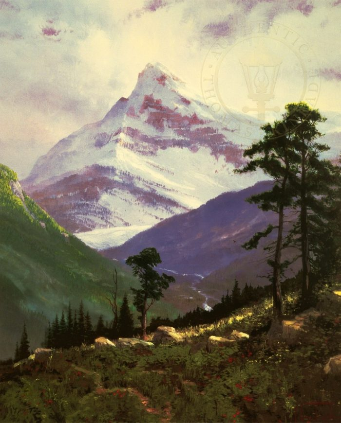 Spring in the Alps – Limited Edition Art