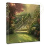 "Stairway to Paradise – 14"" x 14"" Gallery Wrapped Canvas"