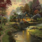 Stillwater Cottage – Limited Edition Canvas
