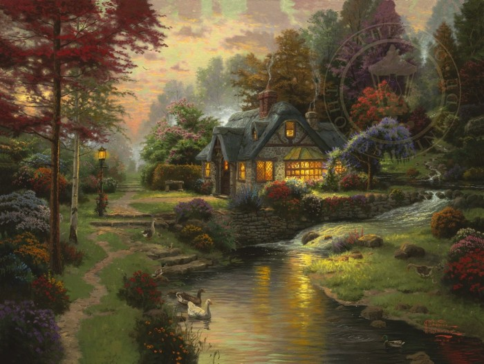 Stillwater Cottage – Limited Edition Art