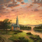 Sunrise Chapel – Limited Edition Canvas