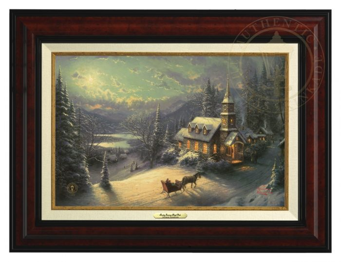 Sunday Evening Sleigh Ride – Canvas Classics