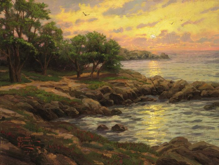 Sunset on Monterey Bay – Limited Edition Art