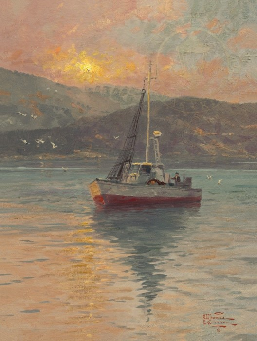 Sunrise, Sea of Galilee – Limited Edition Art