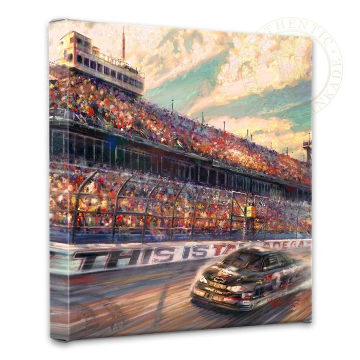 """This is Talladega – 14"""" x 14"""" Gallery Wrapped Canvas"""