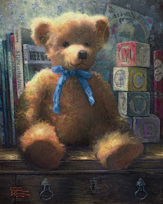 Trusted Friend, A, Blue Bell – Limited Edition Art