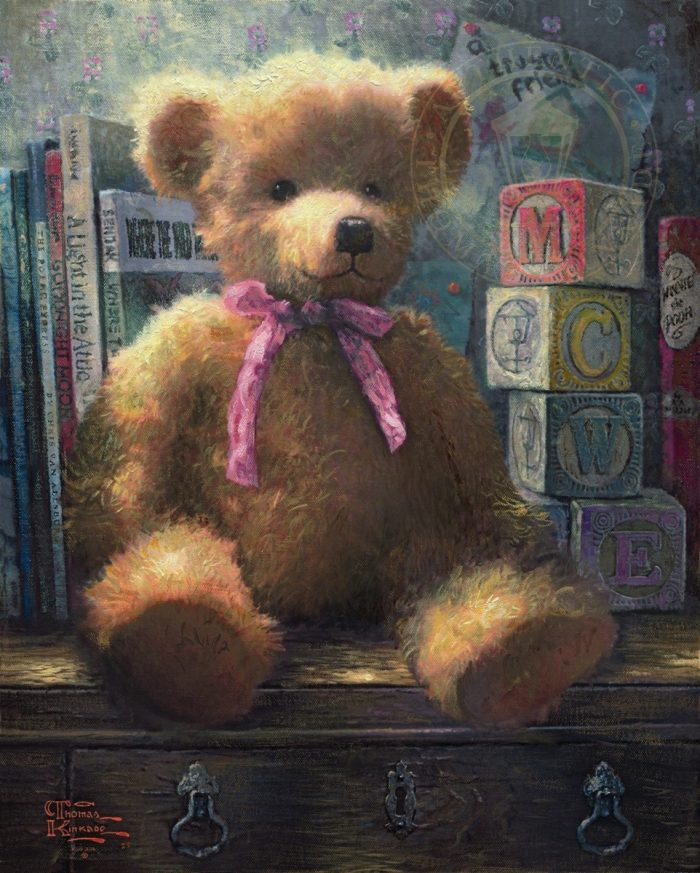 Trusted Friend, A, Rose Bud – Limited Edition Canvas