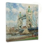 Tower Bridge, London – 14″ x 14″ Gallery Wrapped Canvas