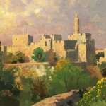 Tower of David – Limited Edition Canvas