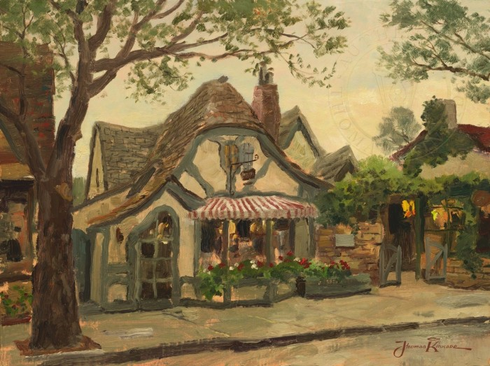 Tuck Box Tea Room, Carmel – Limited Edition Art