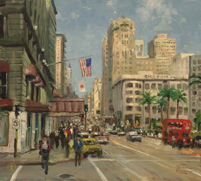 Union Square, San Fransicso – Limited Edition Art
