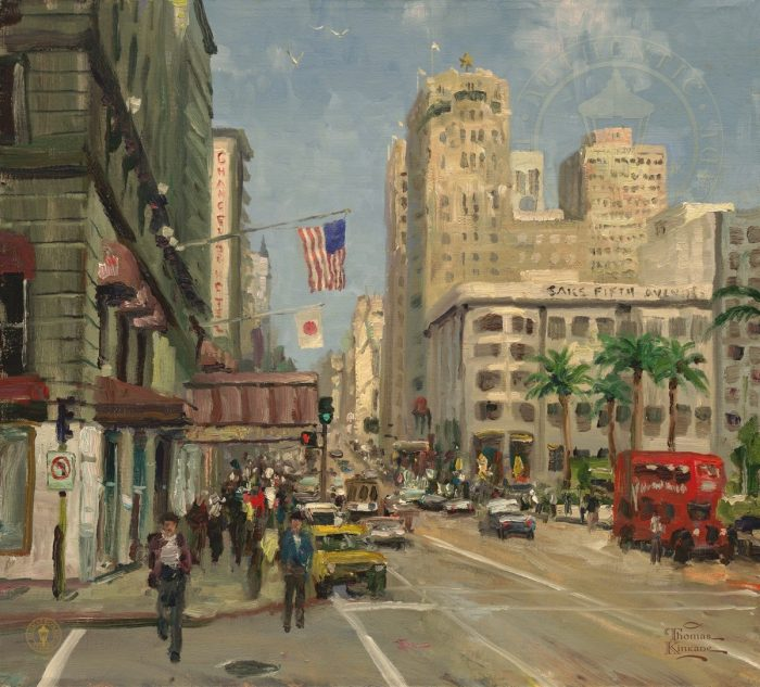 Union Square, San Fransicso – Limited Edition Canvas