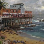 View from Cannery Row, Monterey, A – Limited Edition Canvas