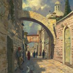 Via Dolorosa – Limited Edition Canvas