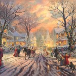 Victorian Christmas Carol, A – Limited Edition Canvas