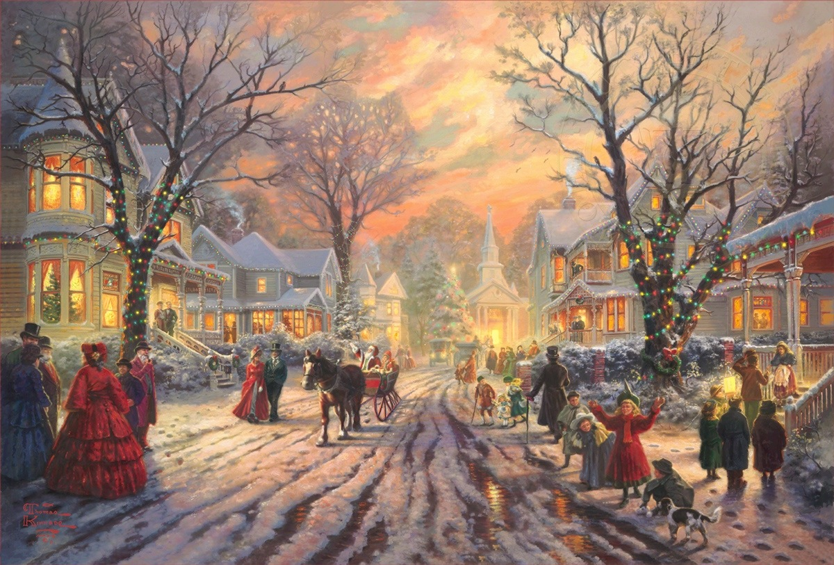 Victorian Christmas Carol, A – Limited Edition Art | The Thomas ...