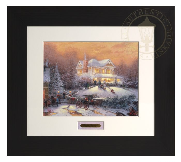 Victorian Christmas II – Modern Home Collection (Espresso Frame)