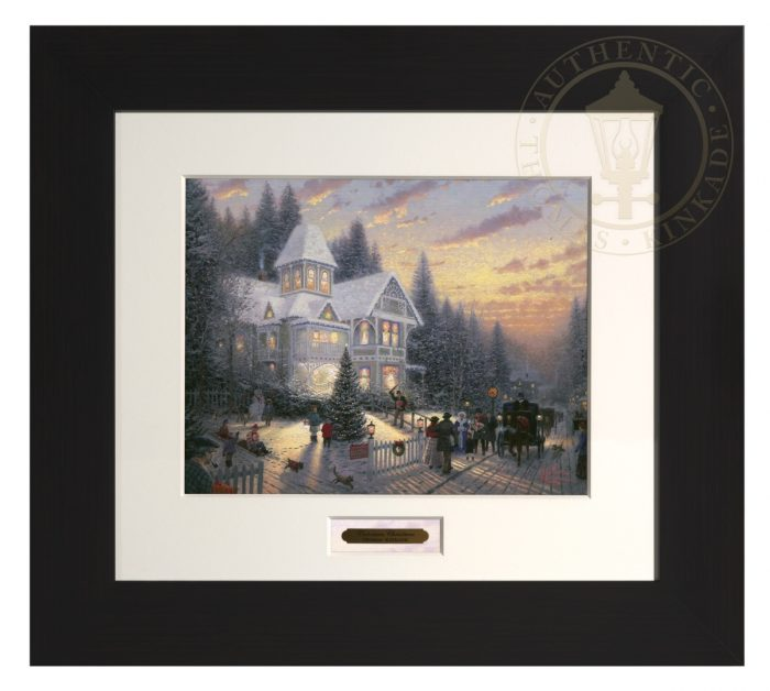 Victorian Christmas – Modern Home Collection (Espresso Frame)