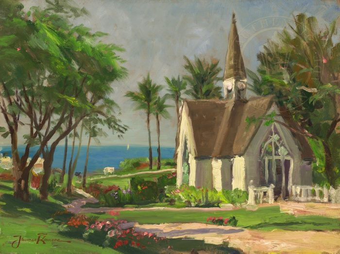 Wailea Chapel – Limited Edition Canvas