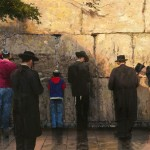 Wailing Wall, Jerusalem, The – Limited Edition Canvas