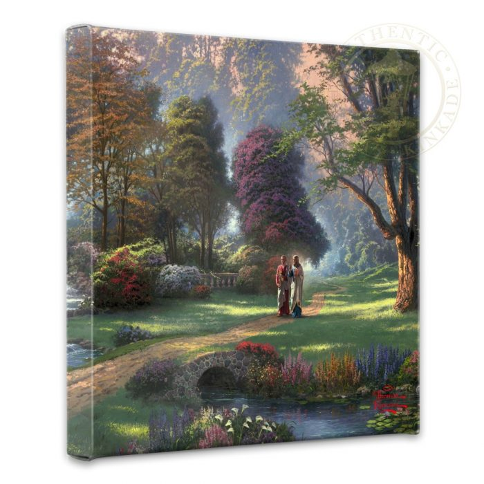 Walk of Faith – 14″ x 14″ Gallery Wrapped Canvas