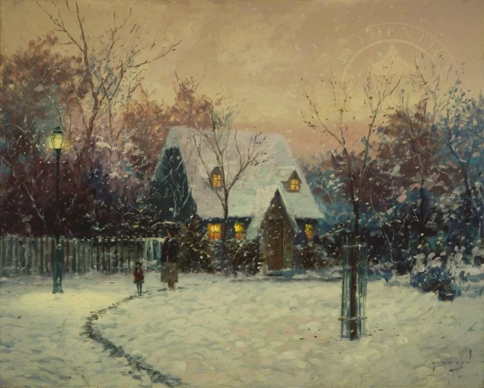 Winter's Cottage, A – Limited Edition Art