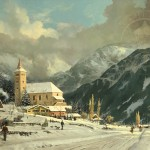 Winter Chapel – Limited Edition Canvas