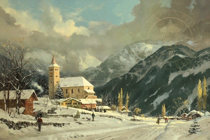 Winter Chapel – Limited Edition Art