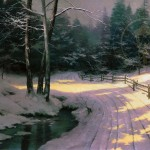 Winter Glen – Limited Edition Canvas