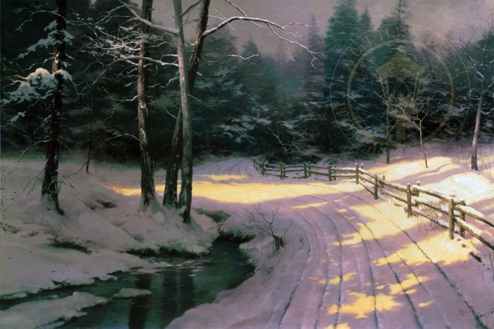 Winter Glen – Limited Edition Art