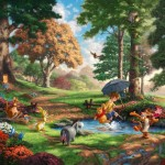 Winnie The Pooh I – Limited Edition Canvas