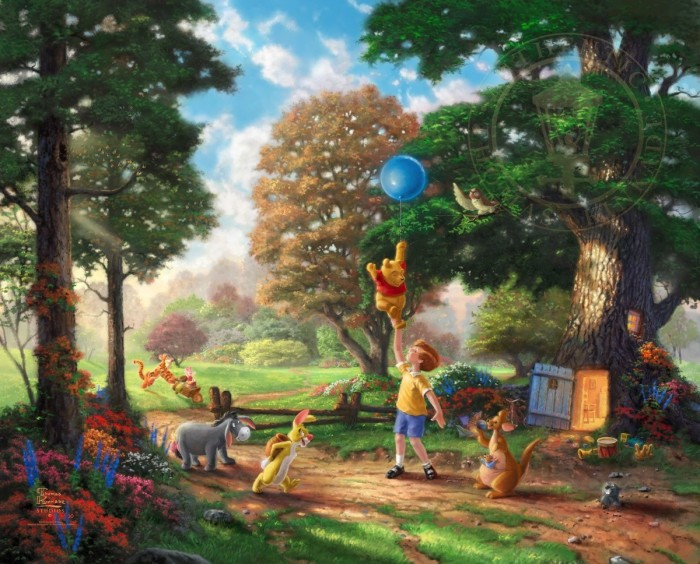 Winnie The Pooh II – Limited Edition Art