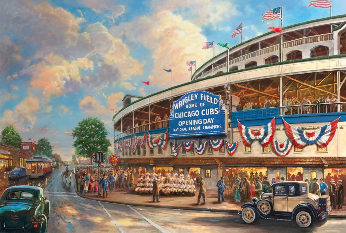Wrigley field memories and dreams limited edition art the emwrigley fieldem memories and dreams limited 1betcityfo Images