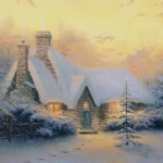 Christmas Tree Cottage – Limited Edition Canvas