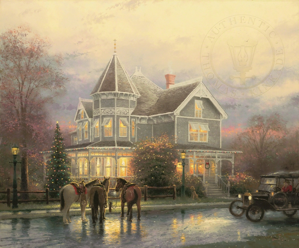 Christmas Memories – Limited Edition Art | The Thomas Kinkade Company