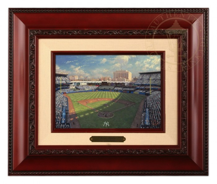 Yankee Stadium – Brushwork